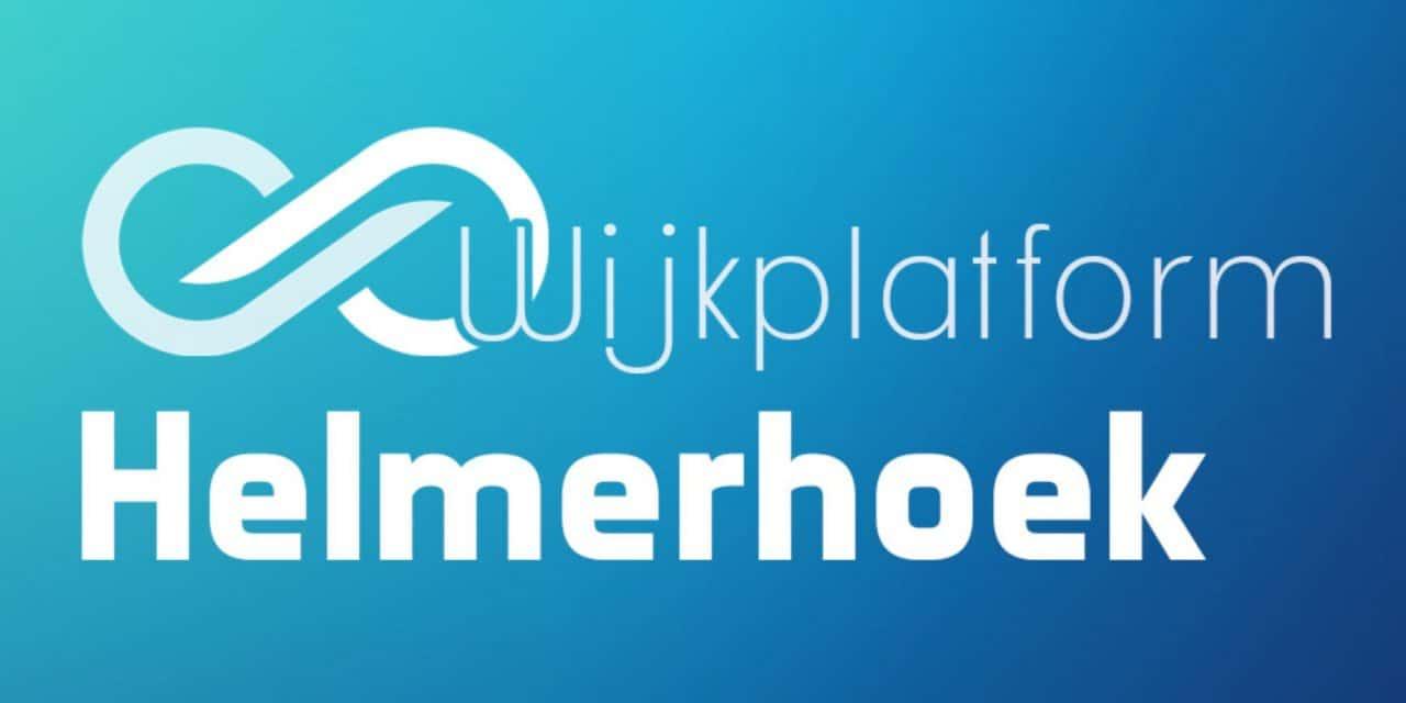 Wijkplatform Helmerhoek vergadert op dinsdag 10 september