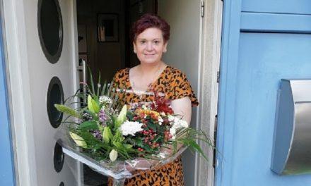 Anja Thater wint Pompoenwedstrijd