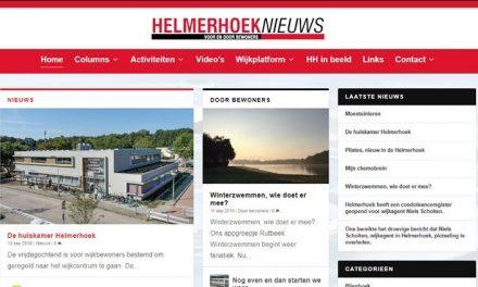 Nieuws uit de bijeenkomst van het wijkplatform Helmerhoek. (1)