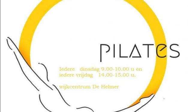 Pilates, nieuw in de Helmerhoek