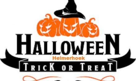 Halloween donderdag 31 oktober