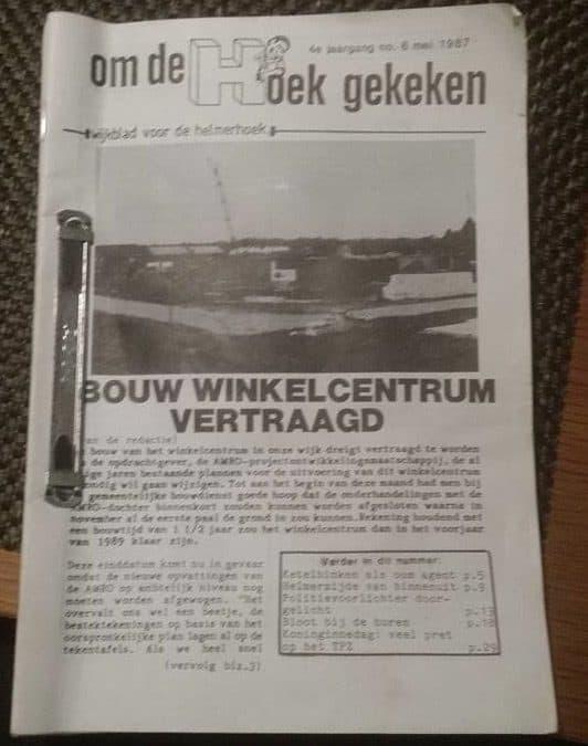 De wijkkrant in Helmerhoek