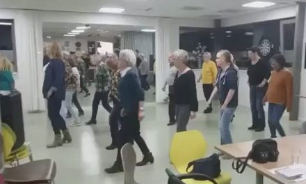 Try Out Country Line Dance succesvol