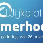Verslag bijeenkomst Wijkplatform Helmerhoek 26 november 2019