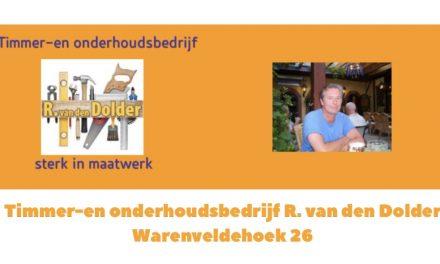 Timmer -en onderhoudsbedrijf Rudi van den Dolder