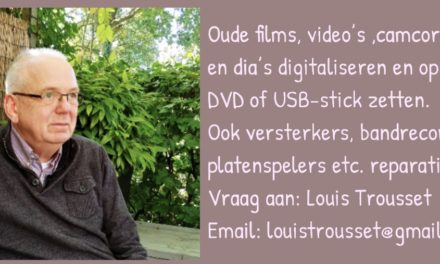 Digitaliseren van foto's, films etc.