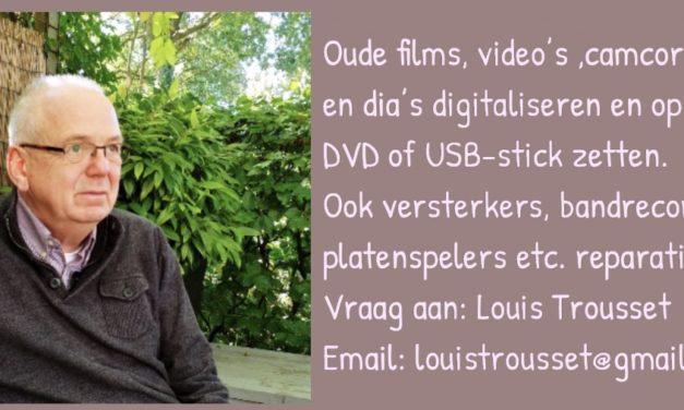 Digitaliseren van foto's, films etc.