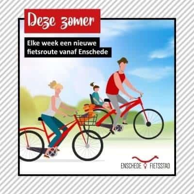 Vakantie in eigen land? Ontdek Enschede en omgeving op de fiets!