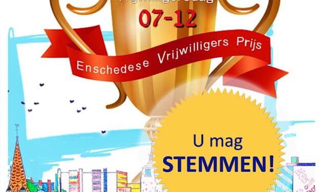 De BIJENHOEK genomineerd voor de Enschedese Vrijwilligers Prijs
