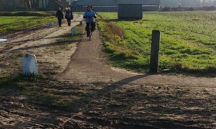 Zondagmiddag 10 januari 2021, het dorpsgevoel rondom de Oude Dijk
