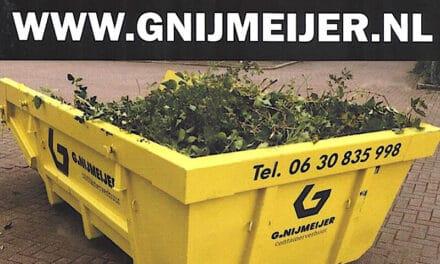 Een container nodig?