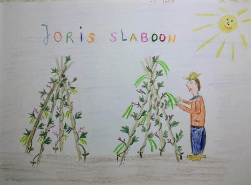 Een moestuinsprookje over Joris Slaboon ;)